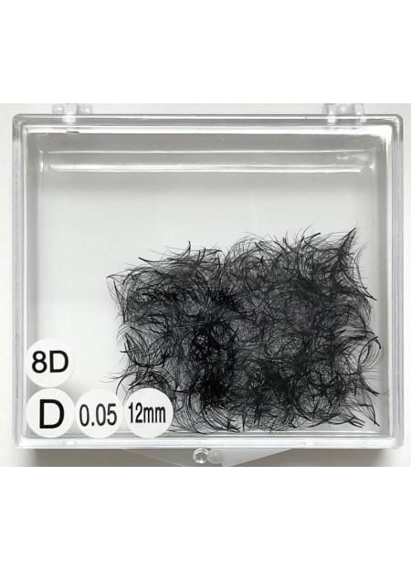 8D Pre Made Volume Fan (500 bundles – loose in a box)