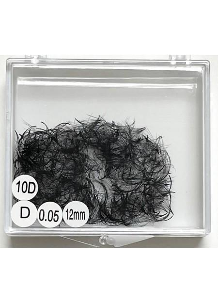 10D Pre Made Volume Fan (500 bundles – loose in a box)