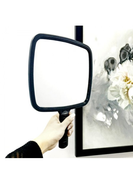 Large Square Hand Mirror