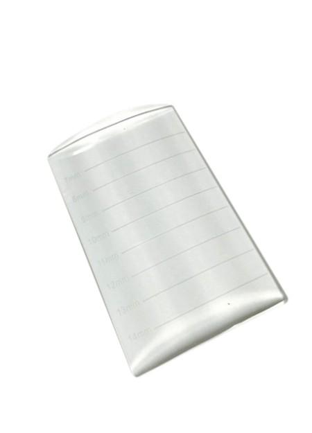 U Shaped Clear Crystal Lash Strip Holder Palette with Length