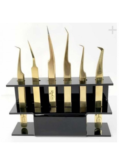6 Holes Eyelash Extension Tweezer Display Stand / Holder (1pc)