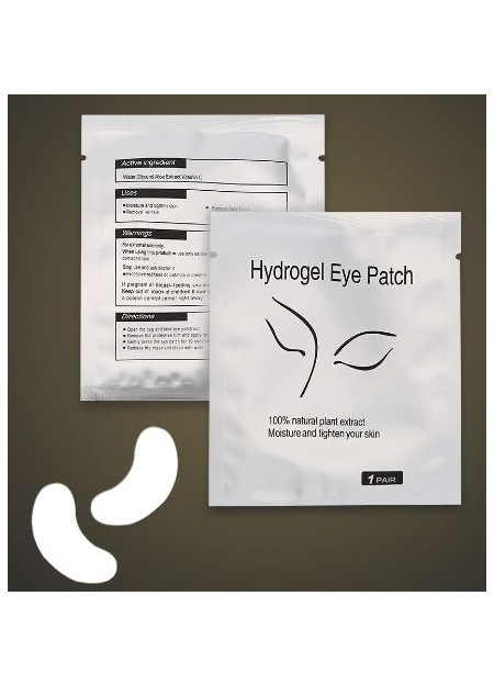 Thin Eye Gel Pads (25 pairs) - Silver