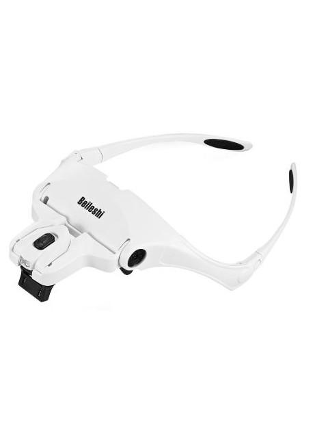 5 Lens Headset Magnifying Glass Eyelash Extension LED & Hands Free