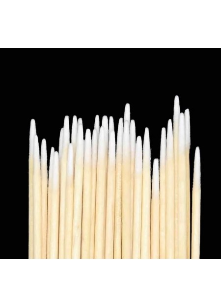 Cotton Swabs Tips Pointed Swab Applicator Q tips Wooden Sticks (100 ct)
