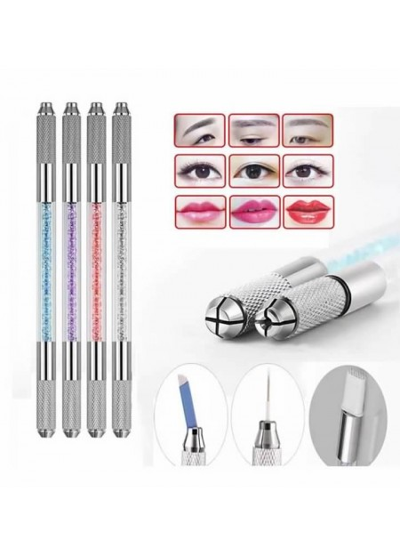 Eyebrow Embroidery Pen Microblading Tattoo Machine Permanent Makeup Manual Pen (1pc)