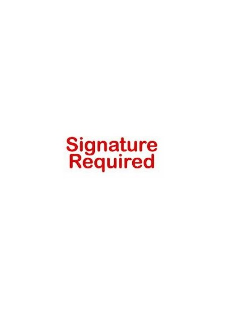 SIGNATURE REQUIRED FEE