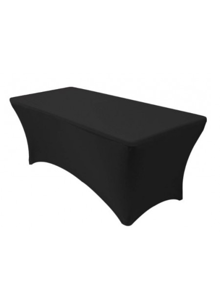 6 ft Rectangular Stretch Spandex Fitted Table Bed Cover (1pc)