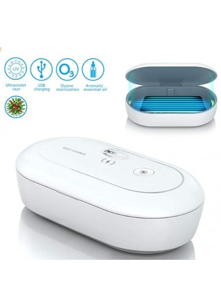 * Curbside Pk Up only * UV Sterilizer / Smartphone Sanitizer Wireless Charger Portable Disinfecting Box